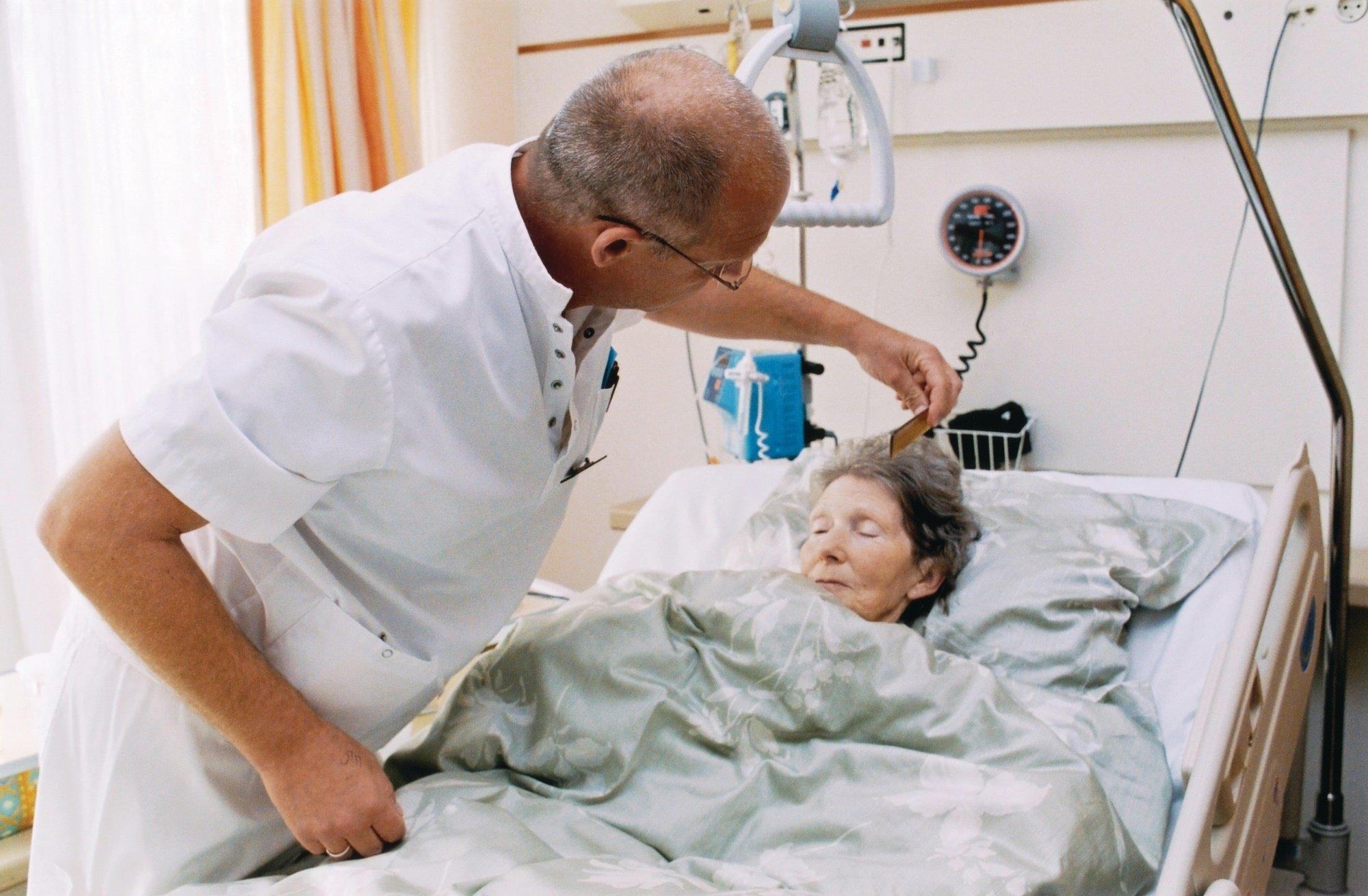 Сиделка для онкологического больного